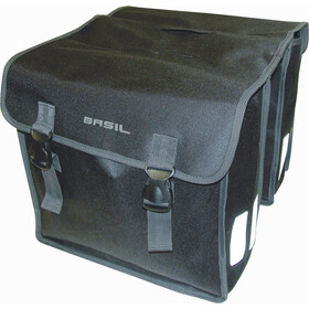 Basil Mara XL Luggage Pannier Double Bag L, 35l, black